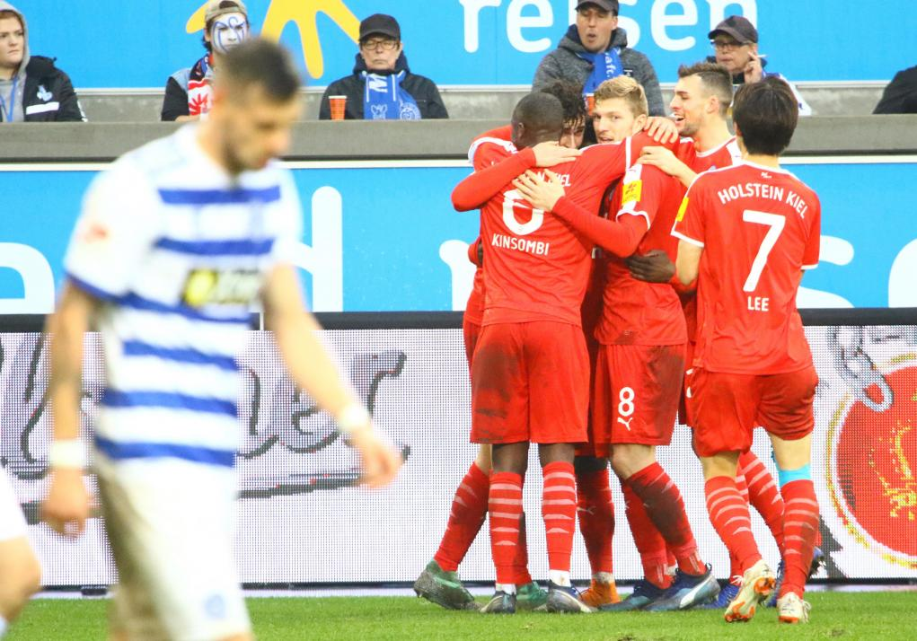 ... und konnten am Ende einen 4:0-Auswärtssieg bejubeln