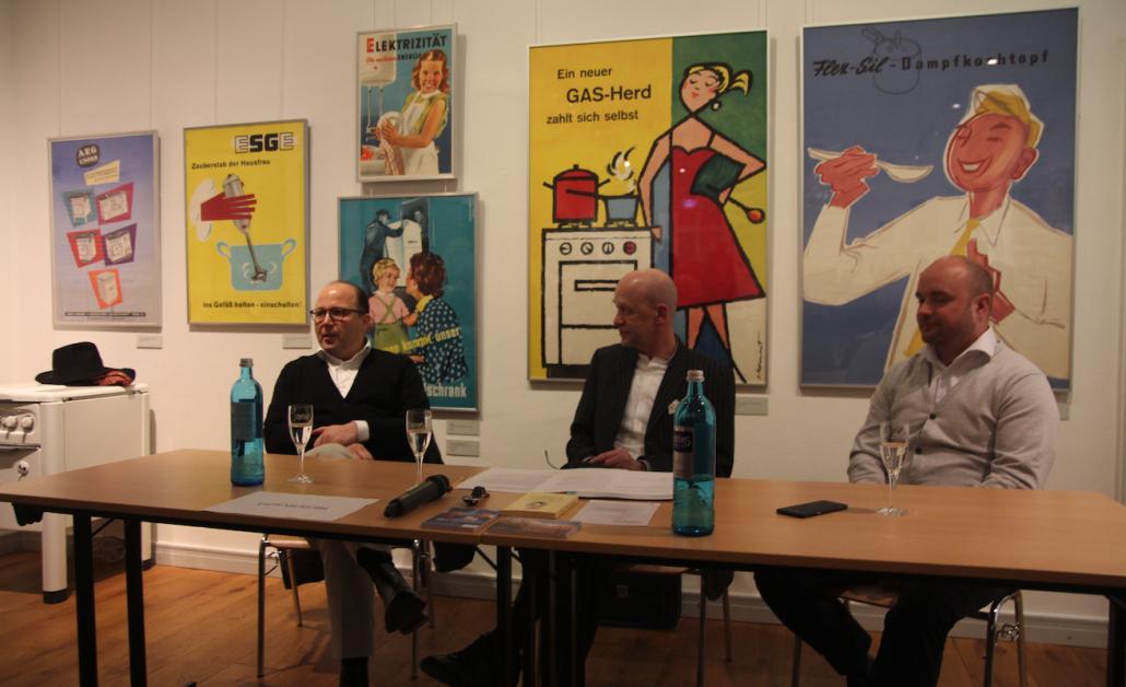 Luther, Mecklenburg und Apelt diskutieren über Essgewohnheiten und Qualität im Norden