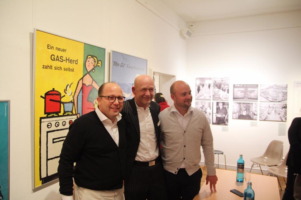 Experten unter sich: Dirk Luther, Jens Mecklenburg und Mathias Apelt (v.li)