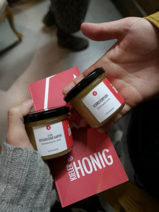 Leckerer Honig aus der Nachbarschaft!