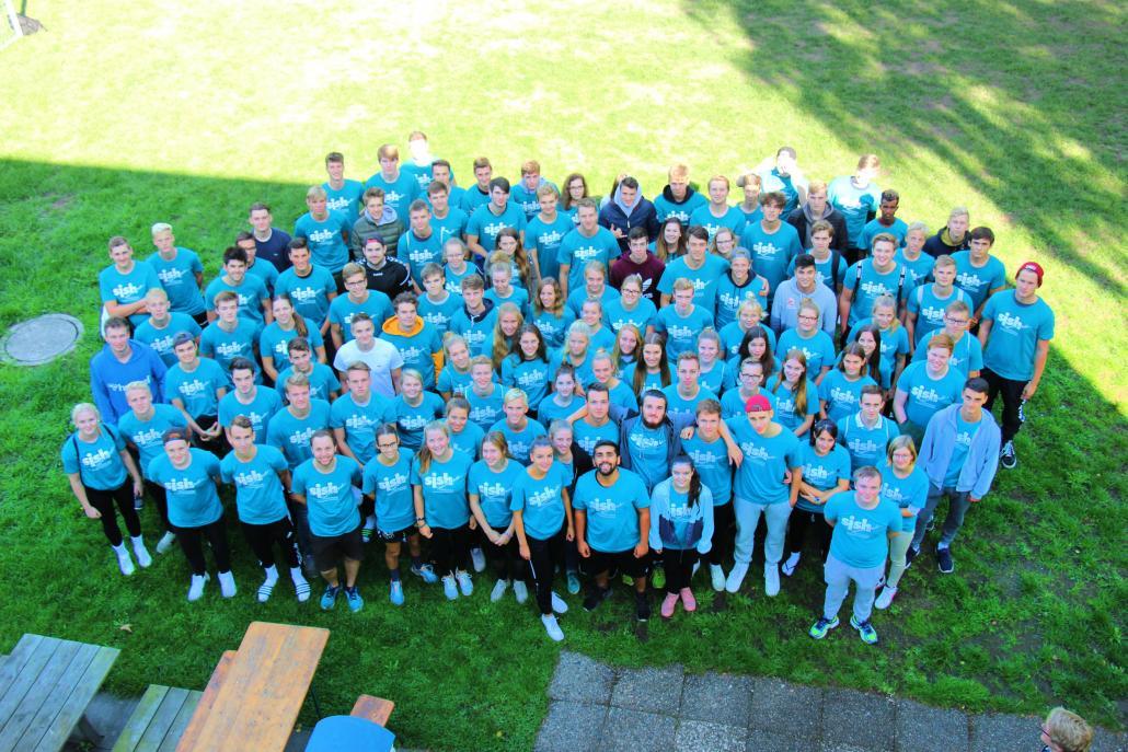 Der aktuelle Jahrgang des Freiwilligendienstes im Sport Schleswig-Holstein
