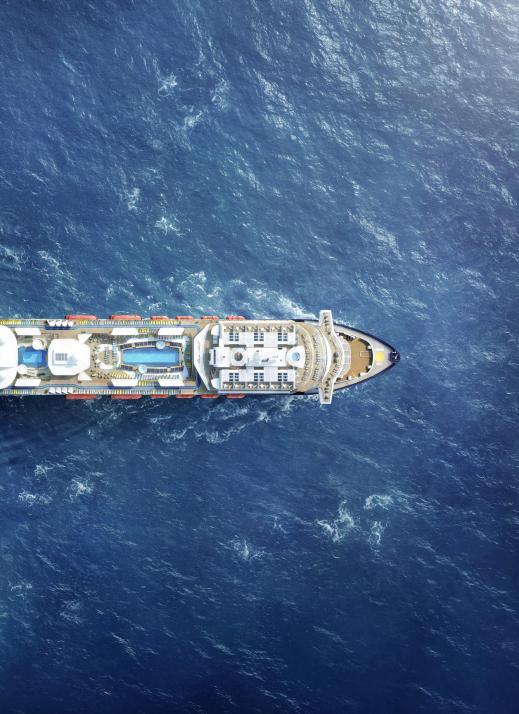 Auch auf der neuen Mein Schiff 2,die kürzlich getauft wurde, wird aufPlastikvermeidung geachtet