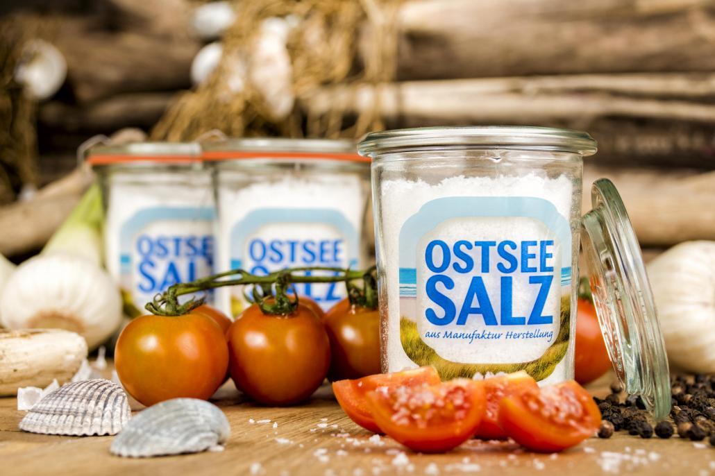 Schmeckt gut zur Butterstulle: Ostseesalz
