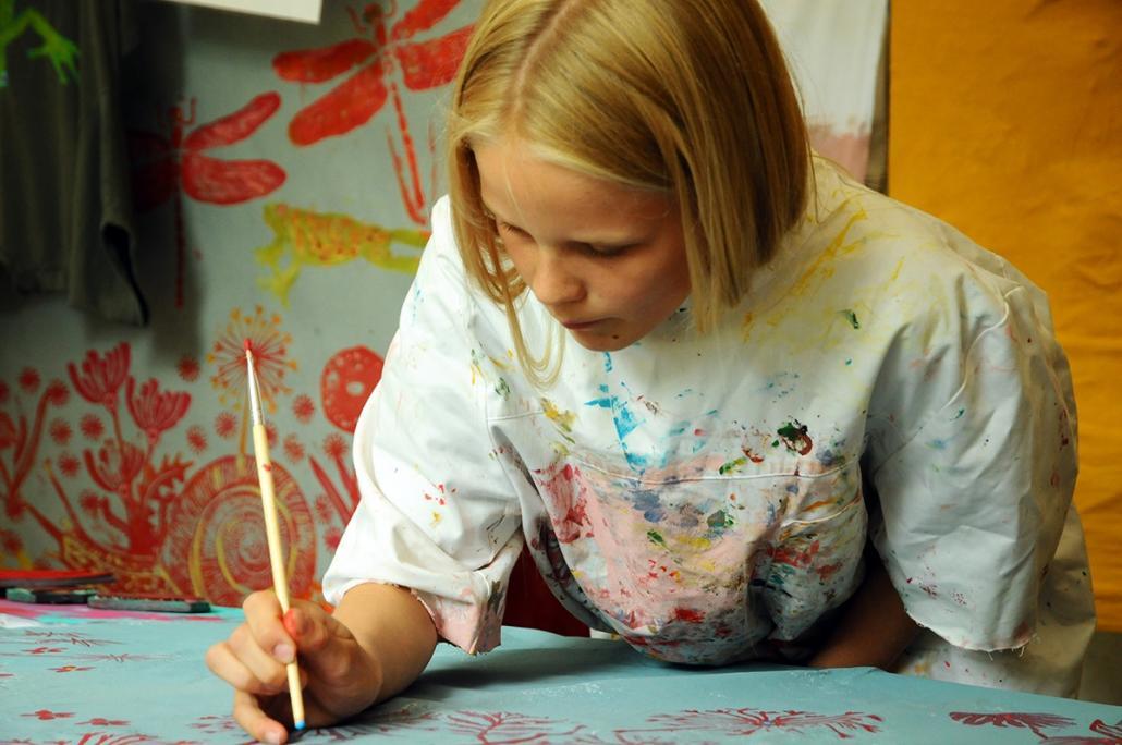 Kinder lieben Malen – Kreativität immer unterstützen!