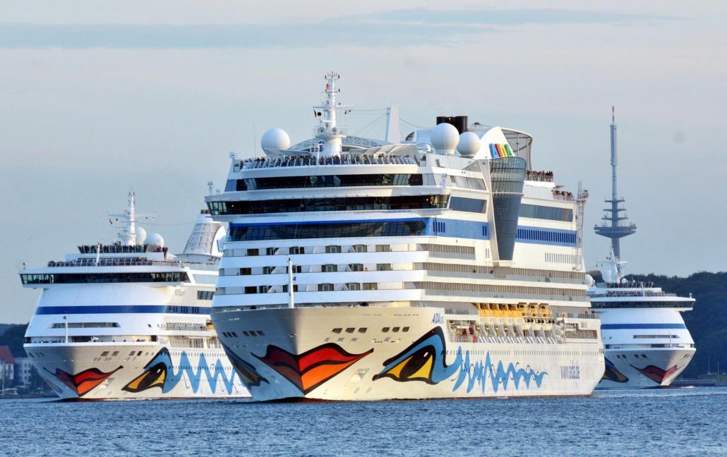 Lernen Sie die verschiedenen Schiffe von AIDA Cruises kennen
