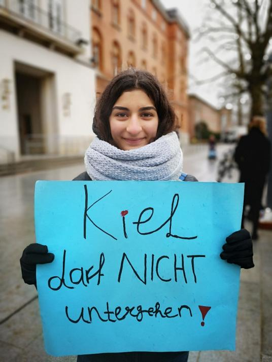 Auch in Kiel: Fridays for Future