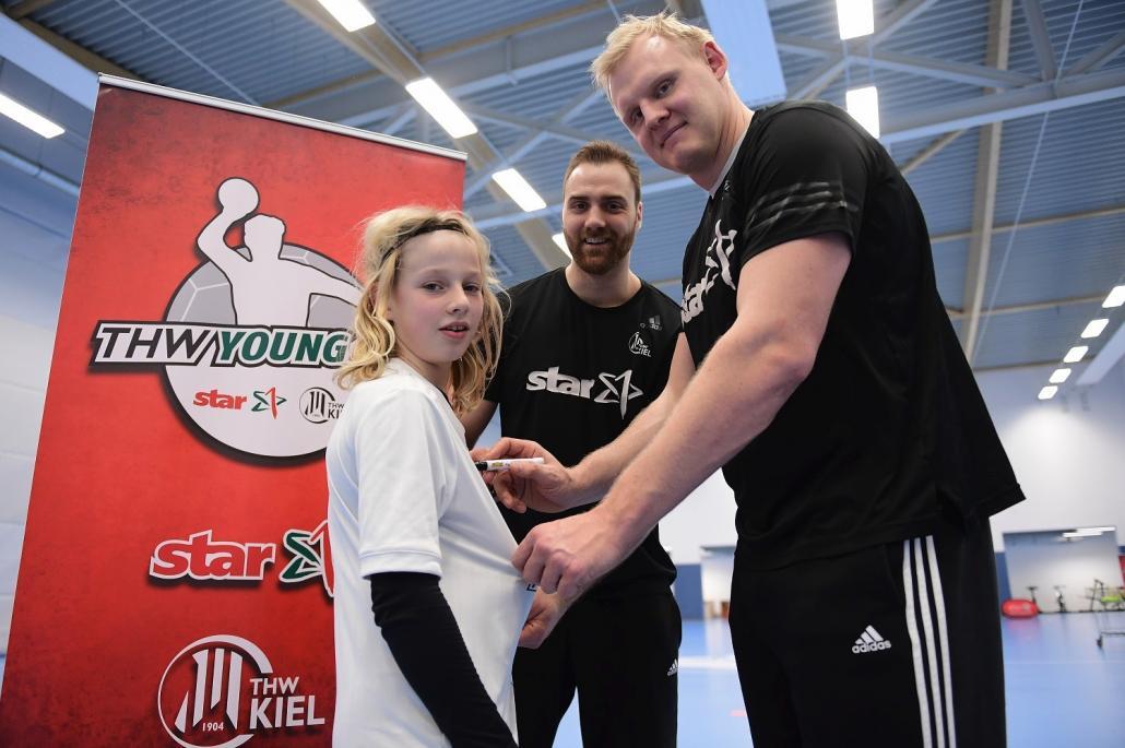 Talente fiebern Handball-Stipendium entgegen