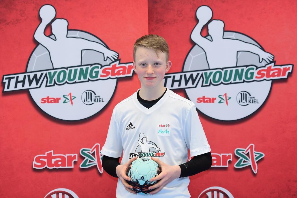 Moritz ist THW-YOUNGstar 2018/2019