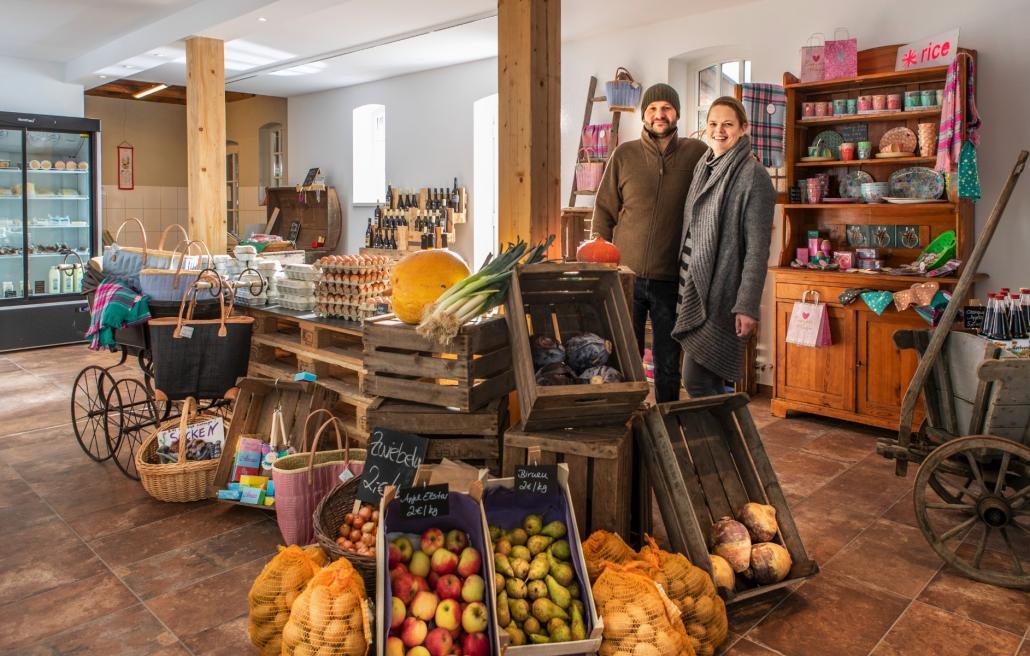 Bei Friderike Nissen und Thies Aderhold spürt man die Leidenschaft für ihren Hofladen