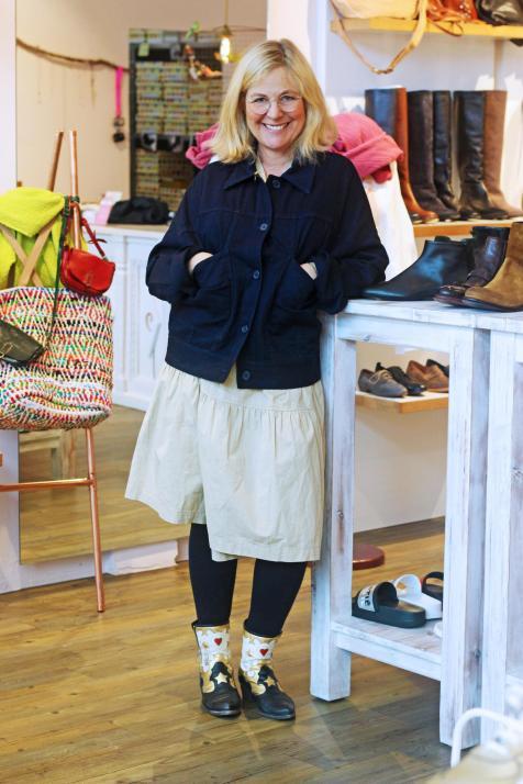 """Susanne sagt: """"Ich will gar nicht nur einen Stil haben!"""""""