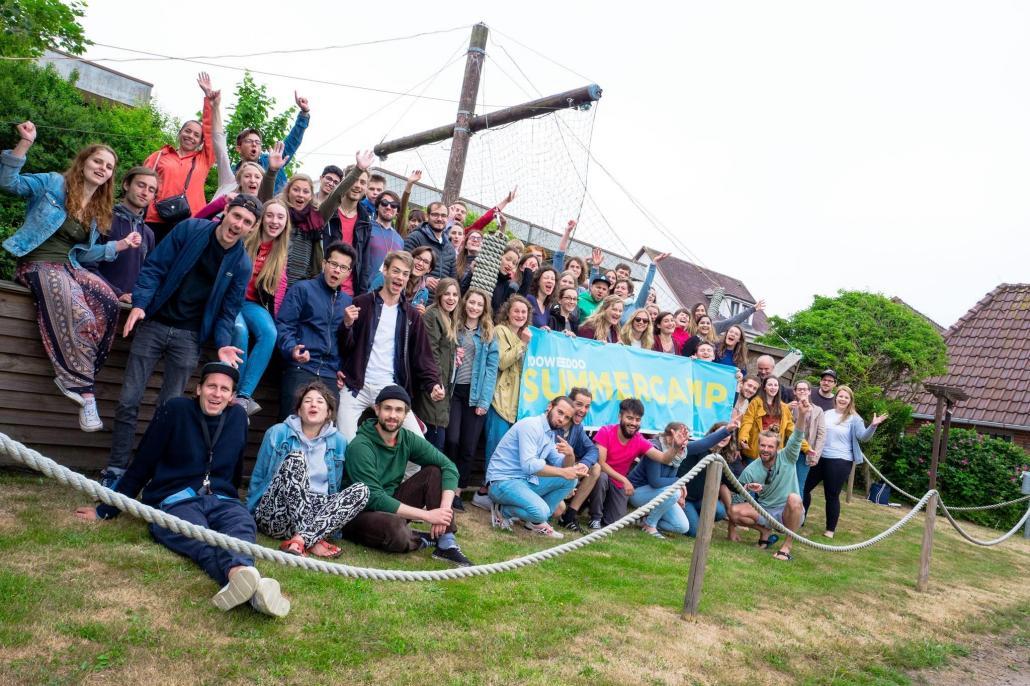 Beim Summercamp kamen viele innovative Ideen zusammen!