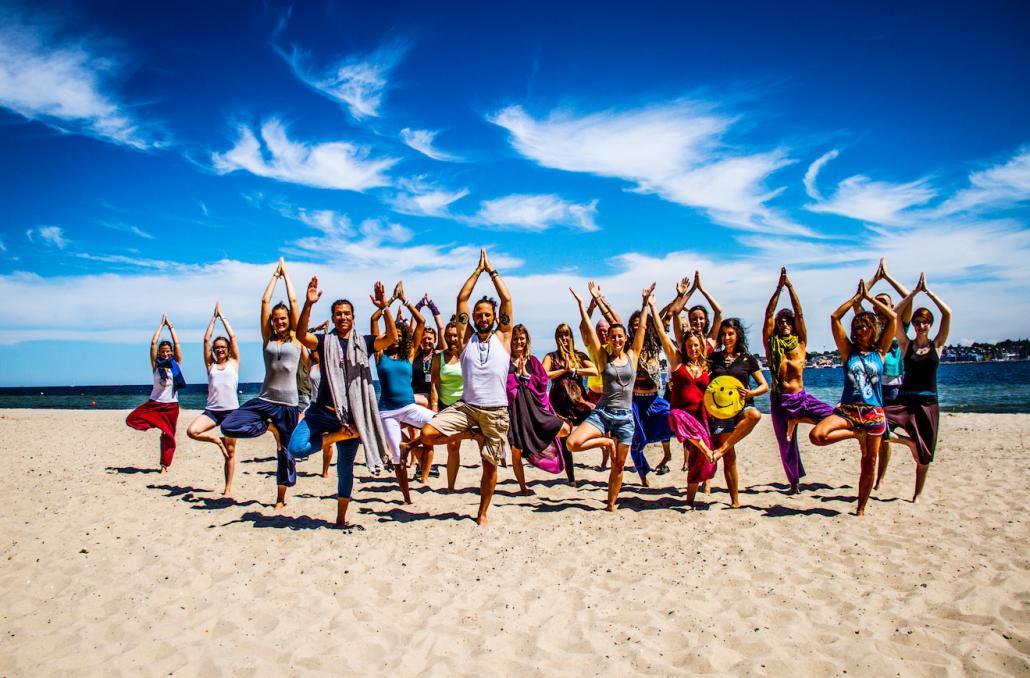 Yoga Festival am Falckensteiner Strand
