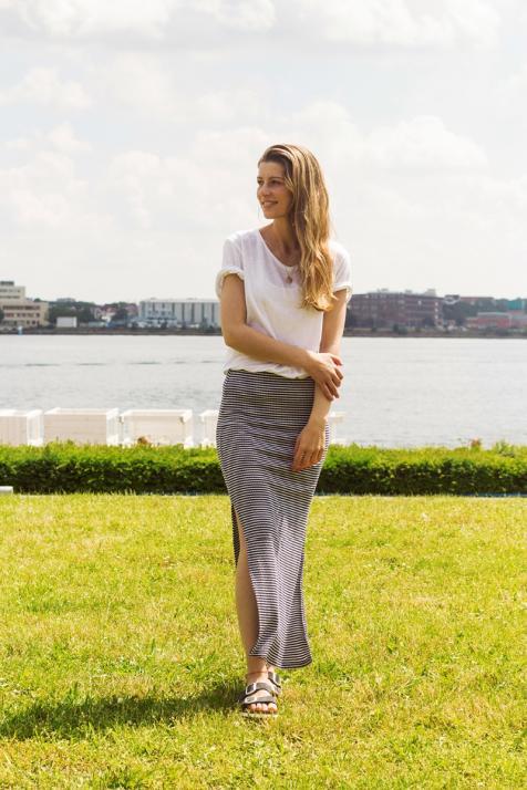 Jana studiert Grundschullehramt in Flensburg: Mode und Textil
