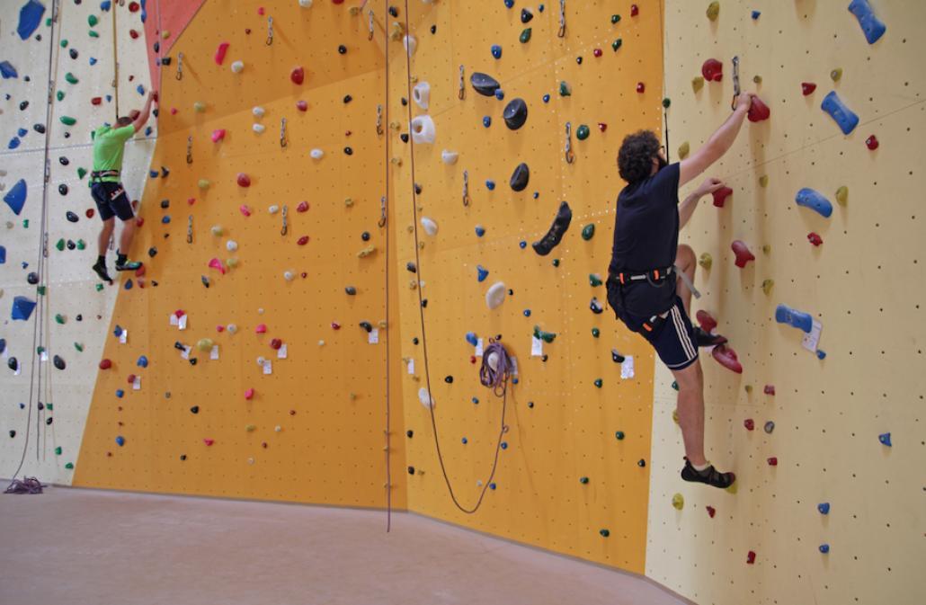 Klettern für Anfänger bis Adrenalin-Junkies