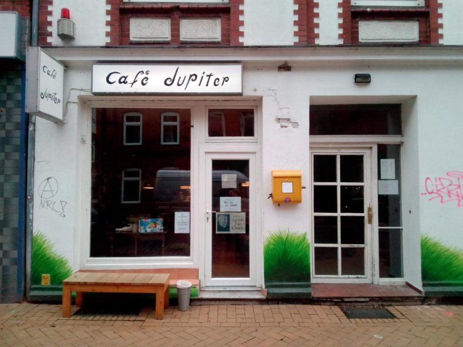 Parklet-Party im Café Jupiter