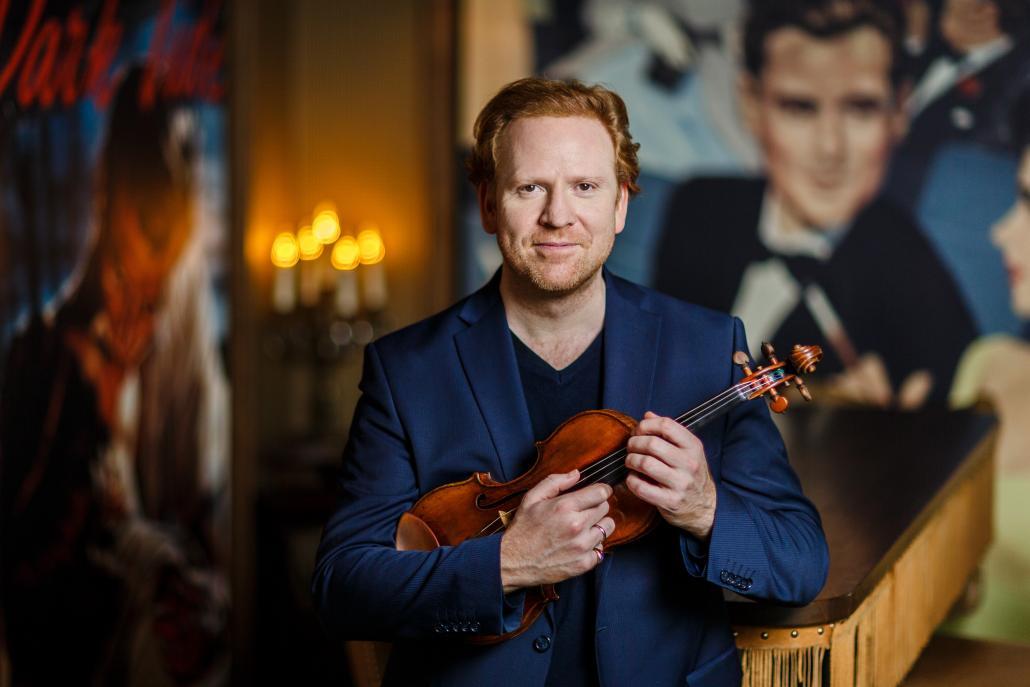 """Daniel Hope gastiert im Rahmen des Schleswig Holstein Musik Festivals mit """"Bach & Friends"""" in Flensburg und Elmshorn."""