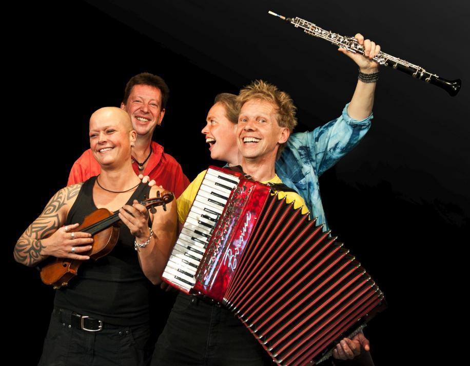 """Klezmer-Quartett """"Di Chuzpenics"""""""