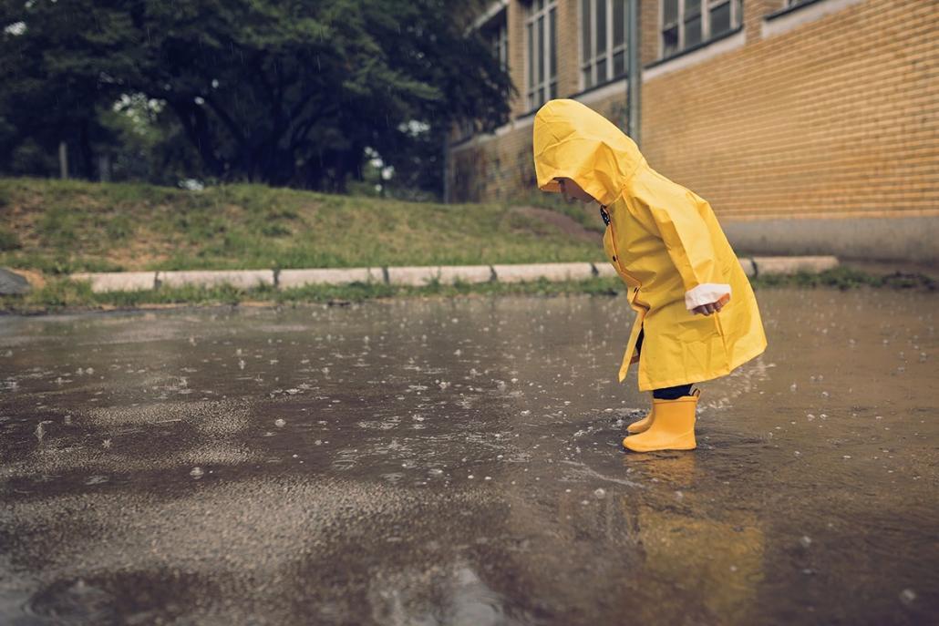 Schlechtes Wetter gibt es nicht – es gibt nur die falsche Einstellung. Wir erzählen euch, was in Kiel bei Regen geht!