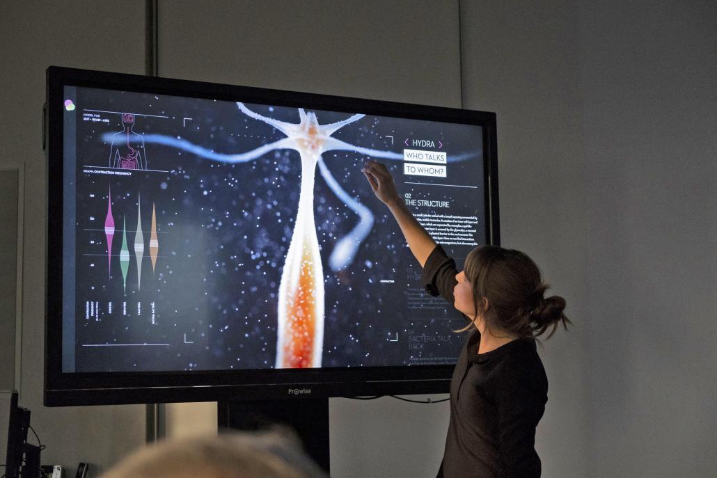 Evolutionsbiologin Susanne Landis stieß als letztes Mitglied der Labs dazu