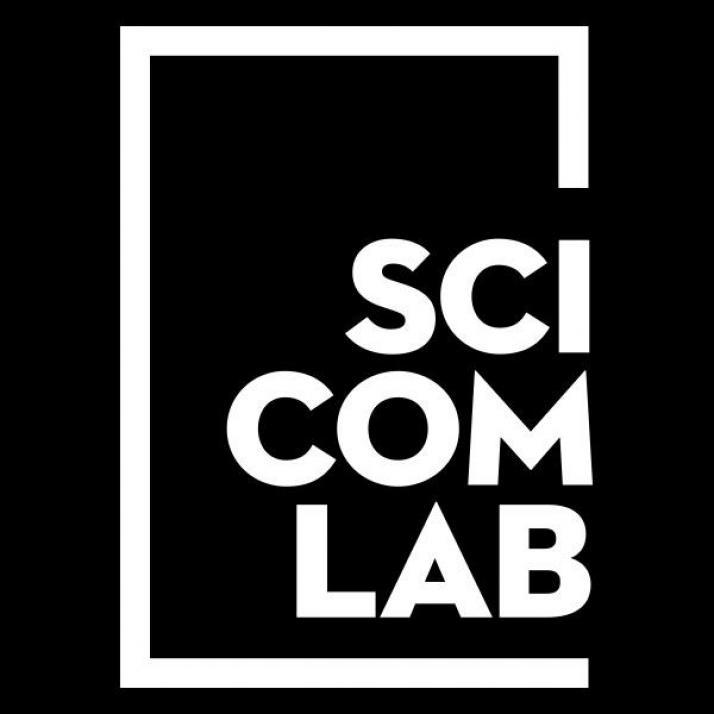 Das Logo des Science Communication Labs