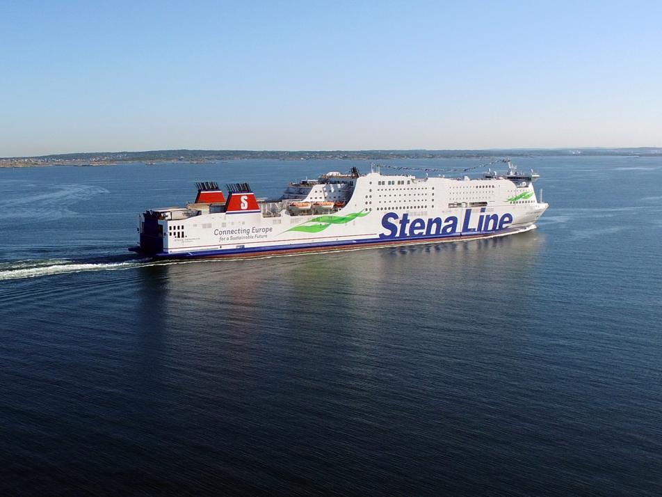 Förde-Tour mit der Stena Line