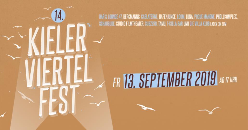 14. Kieler Viertel-Fest am Freitag