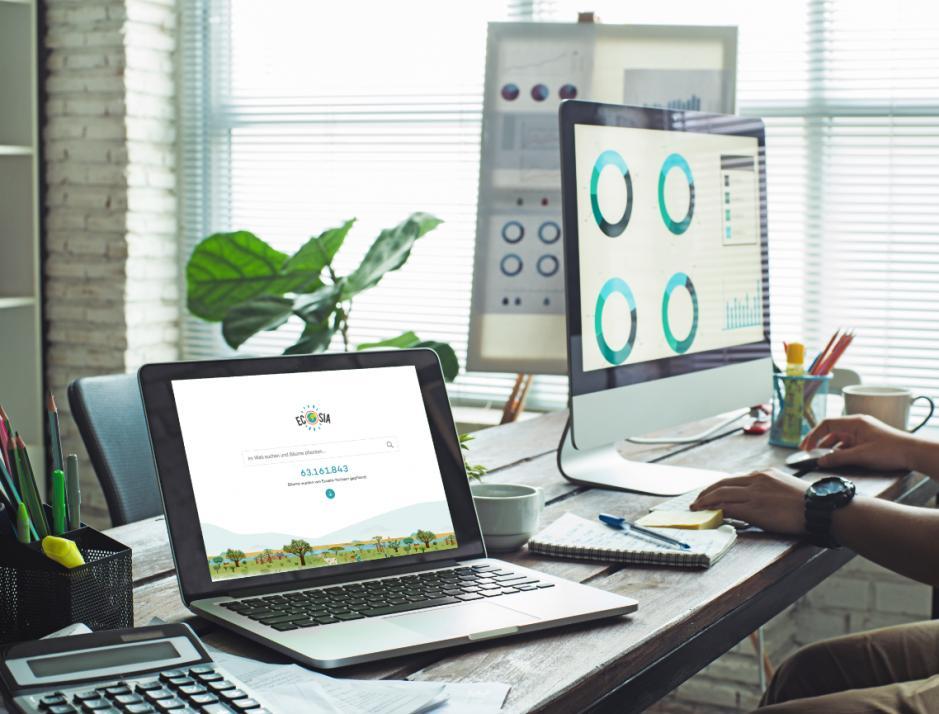 Ecosia ist eine echte Alternative zu Google - und spendet Leben