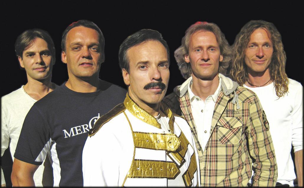 Die Queen-Tributeband MerQury lässt Erinnerungen wach werden
