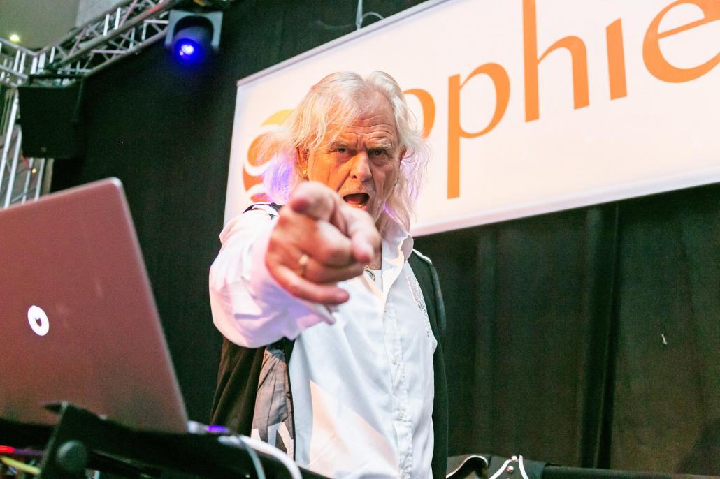 Der Kieler Publikumsliebling: DJ-Größe Gary Mangels
