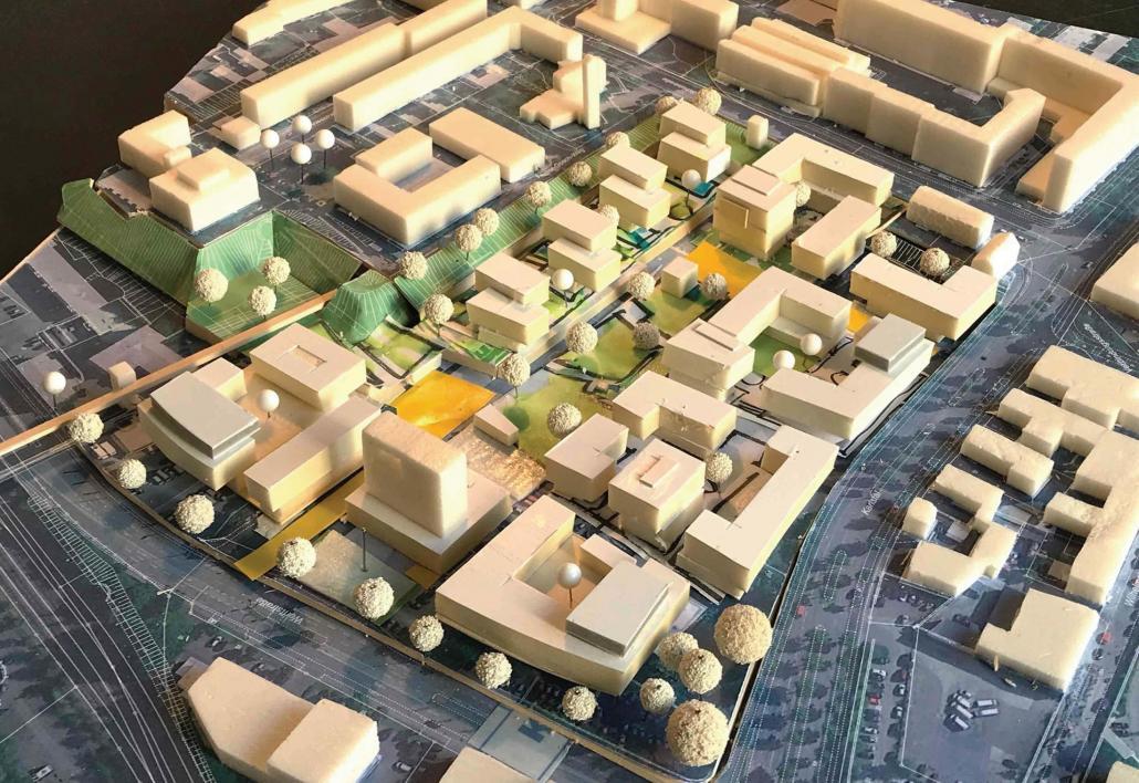 Der Siegerentwurf des Darmstädter Architekturbüros Trojan+Trojan
