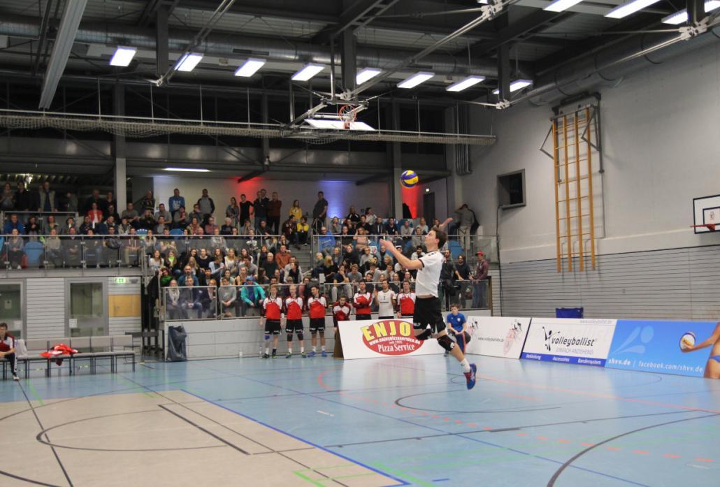 """Multitalent: Erst spät entdeckte der heutigeZuspieler der """"Adler"""" seine Liebe zum Volleyball"""