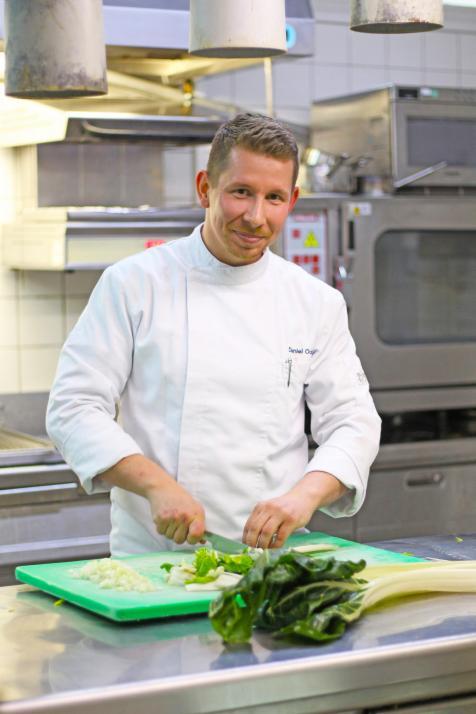 Regionale und saisonale Küche stehen für Küchenchef Daniel Ockert im Vordergrund