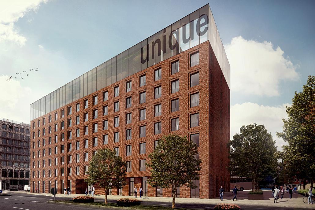 Grundstein für modernes Hotel gelegt