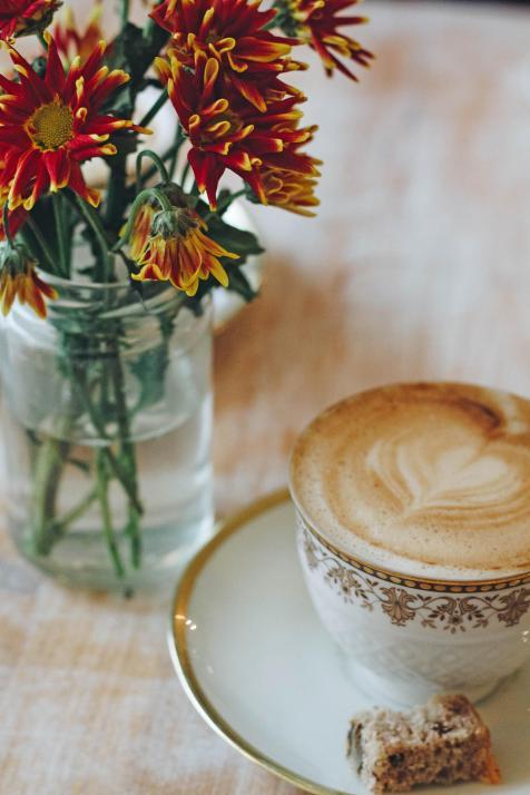 Im Café Isa verarbeiten wir die gewonnenen Eindrücke unseres Ausfluges bei einem Cappuccino