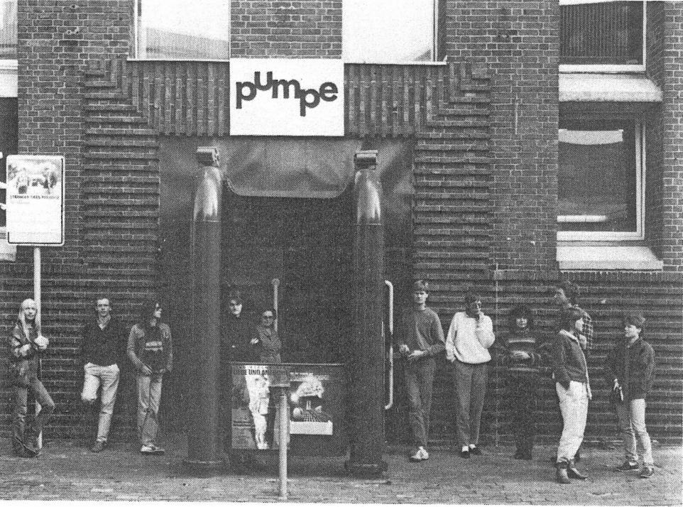 1979 wurde die Pumpe durch viele engagierte Mitarbeiter wiederbelebt