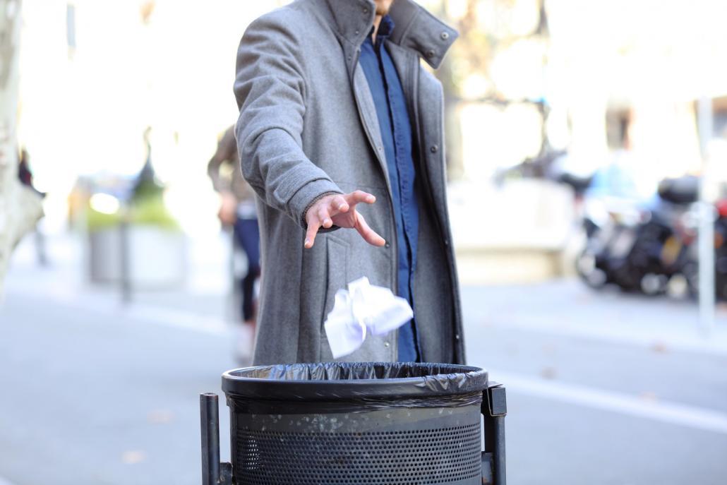 Müllgipfel in Gaarden