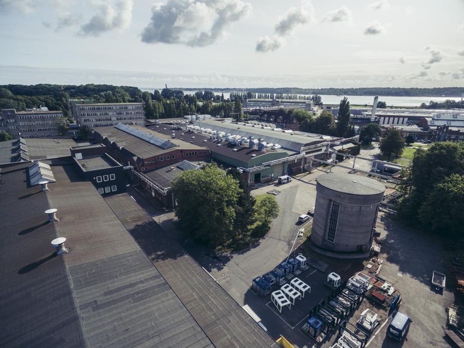 Stadt Kiel kauft Zukunftsareal in Friedrichsort