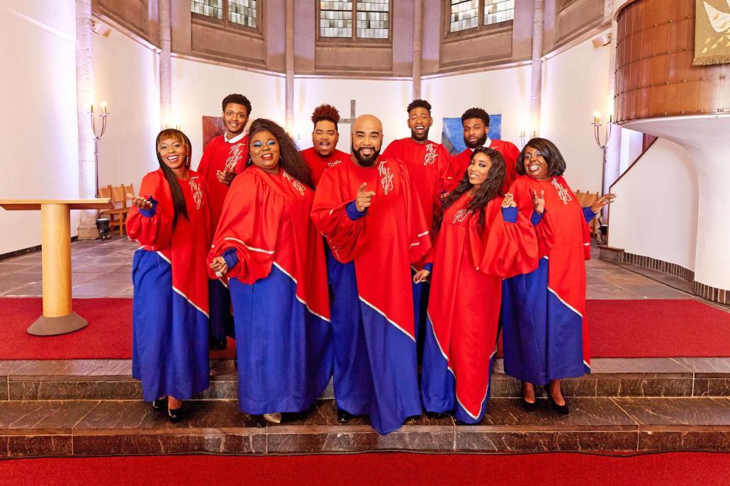 Mit ihnen wird jedes Konzert zu einer einzigen Party: Die New York Gospel Singers