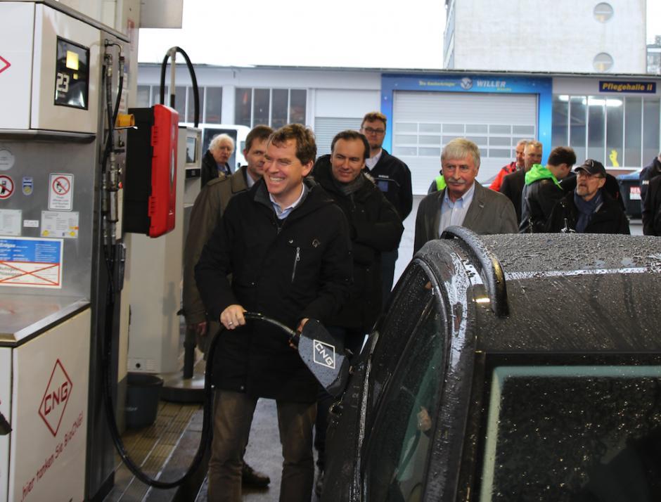 Der Kraftstoff der Zukunft bei Anton Willer
