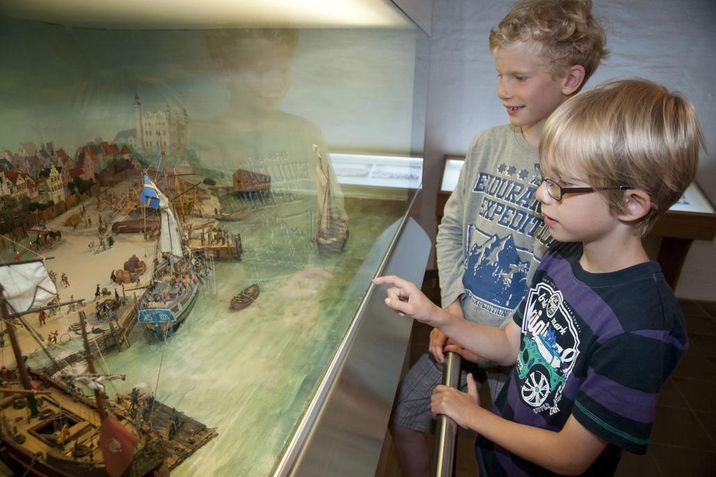 Ausstellung zum Kleinen Kiel-Kanal