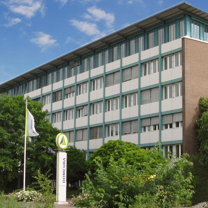 Die Firmenzentrale der Kieler DOMCURA AG liegtam Theodor-Heuss-Ring