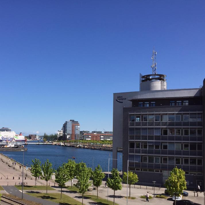 Der Standort am Hörncampus bietet Wasserblick inklusive