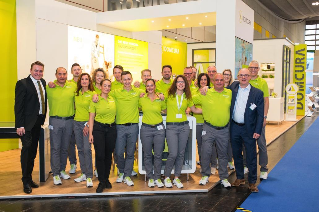 Ein starkes Team:Insgesamt sorgen rund 300 Mitarbeiter für ein kontinuierliches Wachstum des Unternehmens
