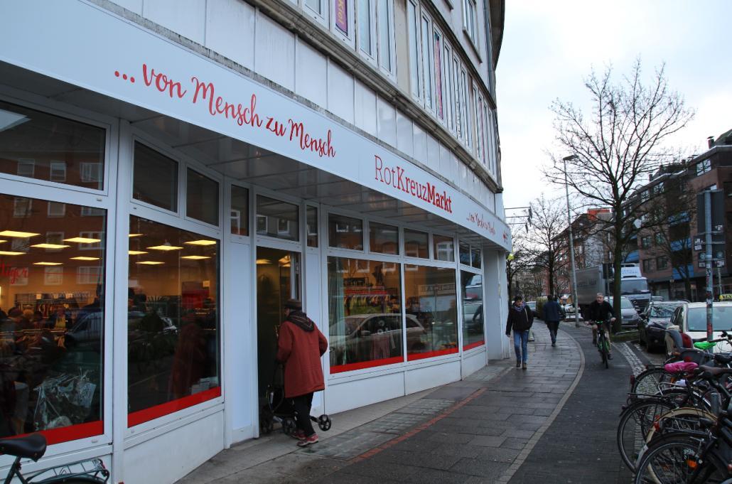 RotKreuzMarkt öffnet am neuen Standort