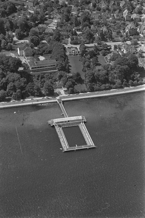Luftbildaufnahme von 1970