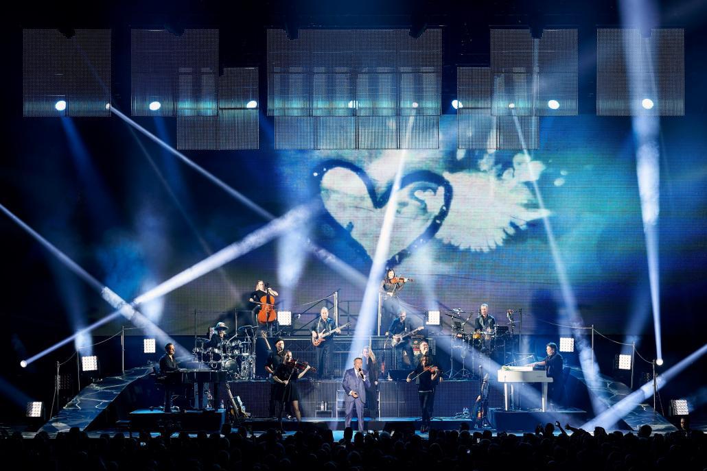 Schlager-Urgestein auf Arenatournee