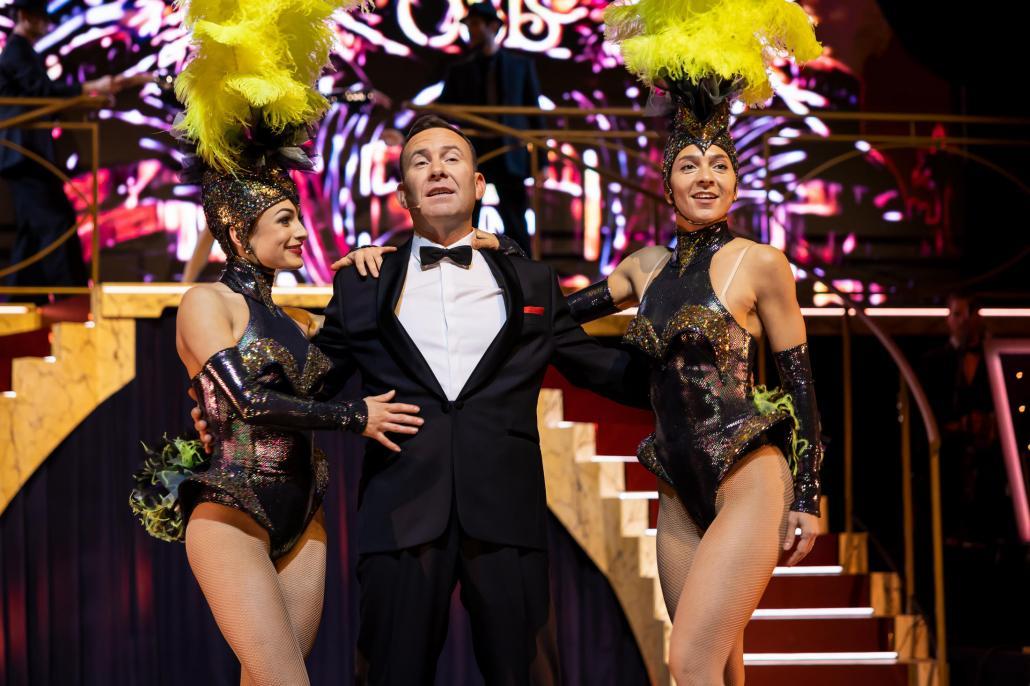 Einer der größten Entertainer kehrt zurück auf die Bühne: Frank Sinatra wird von Tam Ward verkörpert
