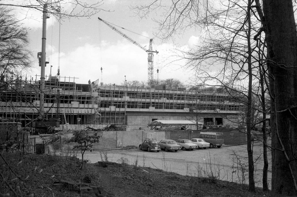 1971: Das Maritim Hotel Bellevue in der Aufbauphase