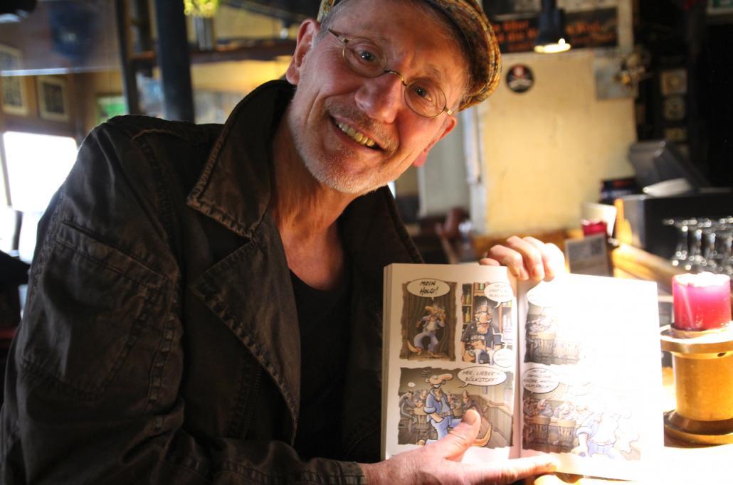 Mit seinen 70 Jahren hat Brösel noch eine Menge vor.
