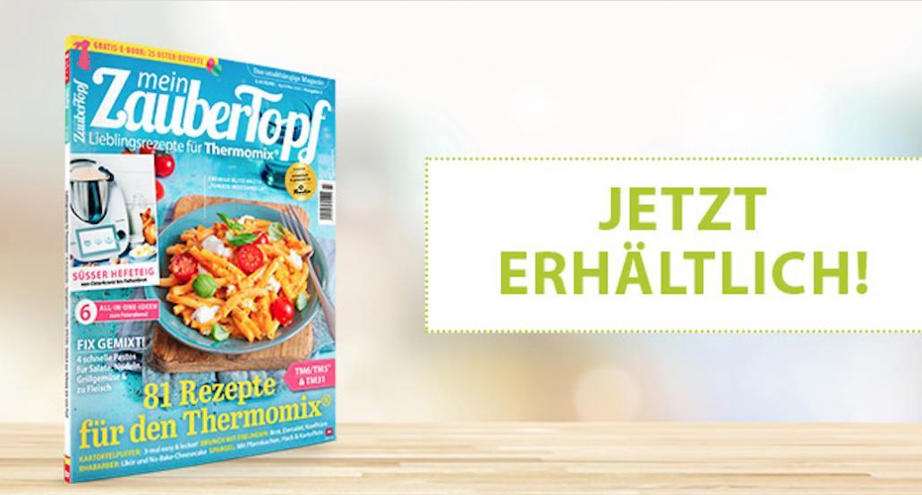 Frühlingsangebot für Food-Magazine